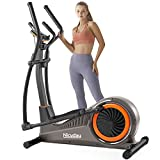 NICEDAY Elliptical Machine, Cross Trainer with Hyper-Quiet Magnetic Driving System, 16 Resistance Levels, 400LB Weight Limit