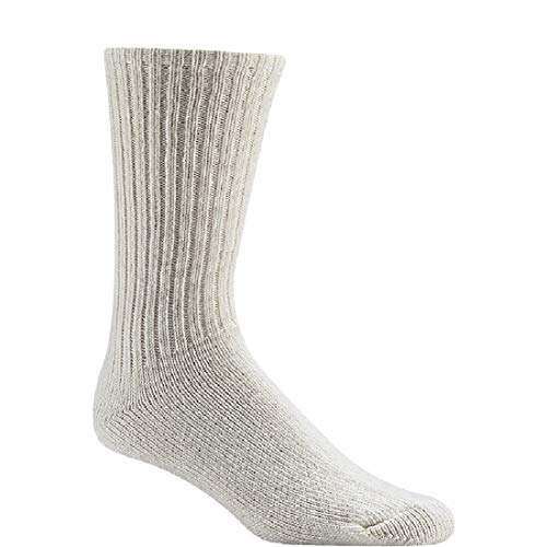 Wigwam 625 Light Weight Wool Athletic Socks, White, Large