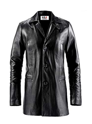 H&A Collections Vin Diesel Furious 7 - Chaqueta de piel para hombre