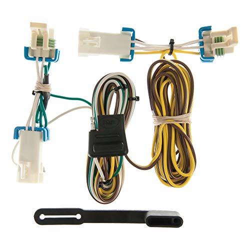 CURT 55383 Vehicle-Side Custom 4-Pin Trailer Wiring Harness, Select Buick Rendezvous, Pontiac Aztek