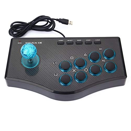 3 in 1 USB Wired Game Controller, Arcade Fighting Joystick Stick, voor PS3 Computer PC Gamepad Engineering Design Gaming Console