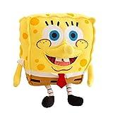 Jouets en Peluche Simulation 3D Réaliste Spongebob Poupée en Peluche Doux Safa Oreiller Vie Marine Dessin Animé en Peluche Jouets Mignons pour Enfants Fille Cadeaux