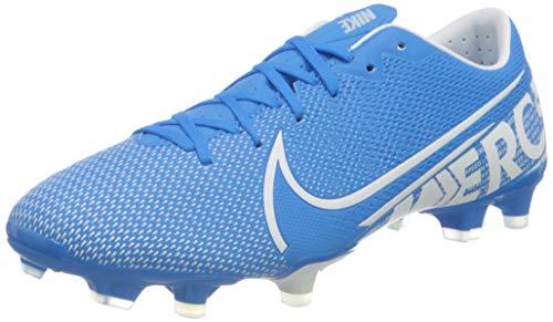 Nike Herren Vapor 13 Academy Fm/Gm Fußballschuhe, Mehrfarbig (Blue Hero/White/Obsidian 414), 45 EU