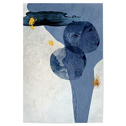 artboxONE Poster 30x20 cm Abstrakt Blue Abstract hochwertiger Design Kunstdruck - Bild Abstrakt von Linsay Macdonald