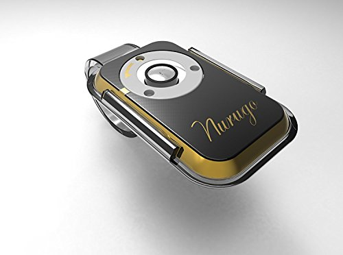 Nurugo Micro 400X Magnification World's Smallest Smartphone Microscope For Cells, Jewelry, Watches, Photography, Mechanics - Includes Brackets - Easily Share Media with the Nurugo Application