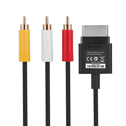 AV-audiokabel voor de gameconsole voor XBOX 360, 1,8 m ABS-kabel voor de televisiekabel AV-audiokabel voor de XBOX 360 Slim