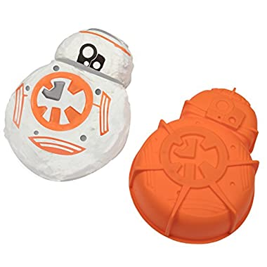 Star Wars BB-8 Silicone Cake Mold - Great for Themed and Birthday Parties - 10  x 8