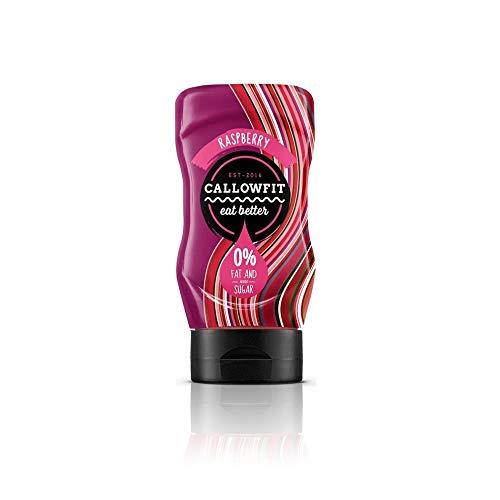 CALLOWFIT - Low Carb Sauce 0% Fat & Zucker - Diätsoße - Raspberry Sauce (300ml)