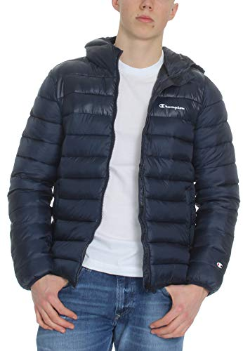 CHAMPION Herren Steppjacke, sky captain-allover, XXL