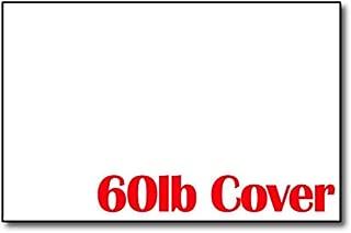 White 60lb Cover 5 1/2