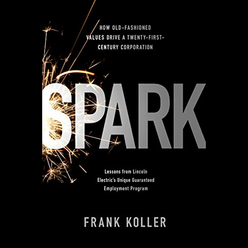 Spark audiobook cover art