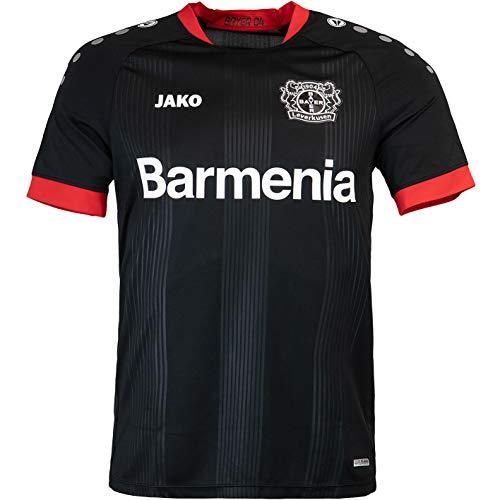 JAKO Bayer 04 Leverkusen Trikot Home 20/21 (L, schwarz)