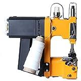 Hanchen Mini Bag Closing Machine 2s Portable Bag Closer 2.9KG Electric Sewing Machine Automatic Woven Bag Packing Machine For Woven Bag/Snakeskin Bag/Sack CE Certificate (110v)