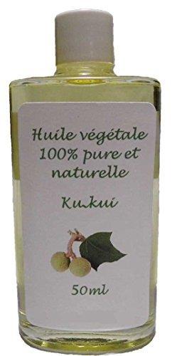 Huile végétale de Kukui 50ml