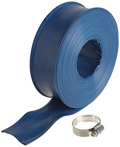 Poolmaster 32170 1-1/2-Inch x 50-Feet Heavy-Duty Backwash Hose, Essential Collection, 1 1/2-inch, Blue