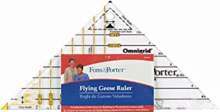 Fons & Porter R7846 Flying  Geese Triangle Ruler