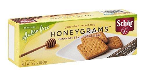 SCHAR   Crackers-Honeygrams/ [Gluten Free] 5.6 Oz [1 Pack] by Schar
