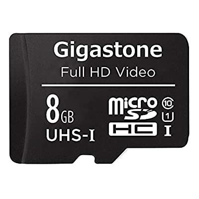Micro SD Black 1-Pack / 2-Pack by Gigastone