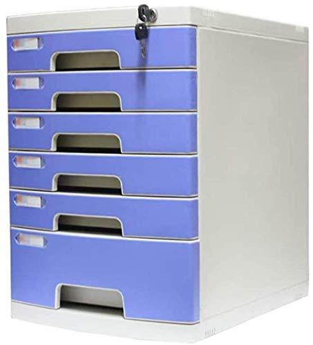 Archivo de archivador, archivo de la revista Data Bloqueable Archivo de oficina Armario Multi-capa Desktop Gabinete Cajón Confidencial Oficina Desktop Drawer Manager Caja de almacenamiento Caja de alm