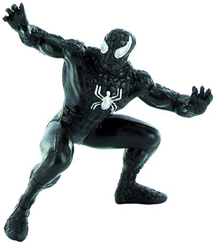 Comansi COMA96015 - Marvel Comics Minifigur Spider-Man, 7 cm, schwarz