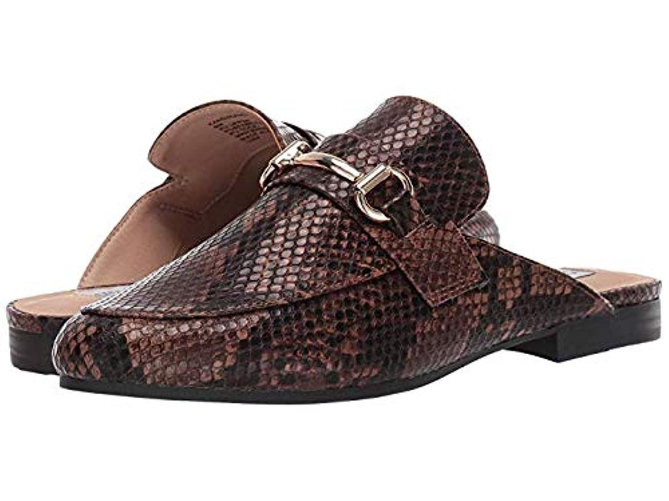 お風呂を持っているイルあそこレディースローファー?靴 Kandi Slip-On Mule Brown Snake (24cm) M [並行輸入品]