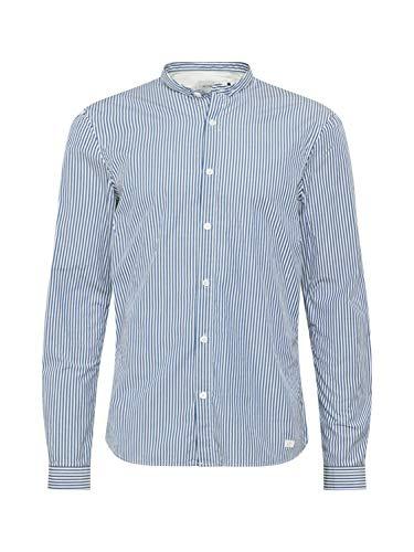 Nowadays Herren Hemd blau XL