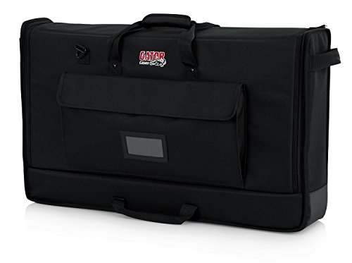 """Gator Cases Padded Nylon Carry Tote Bag for Transporting LCD Screens, Monitors and TVs Between 27"""" - 32""""; (G-LCD-TOTE-MD)"""