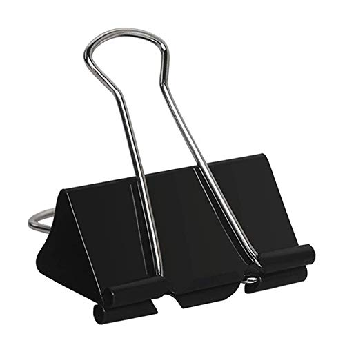 40 Pcs Extra Large Binder Clips 2 Inch Width for Office