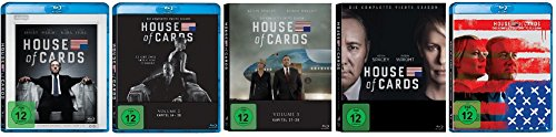 House of Cards - Staffel 1-5 [Blu-ray]