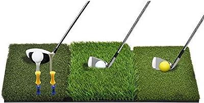 WhiteFang Golf Mat Tri-Turf