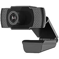 Entweg High Definition USB Desktop Laptop Computer Web Camera with Mic