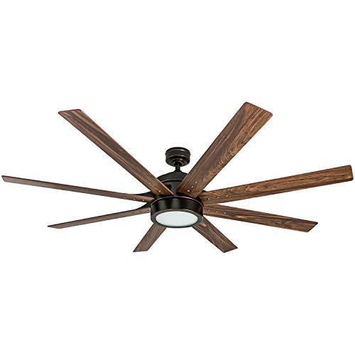 Honeywell Ceiling Fans 50609-01 Xerxes Ceiling Fan, 62, Oil...