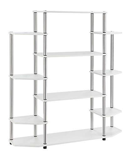 Convenience Concepts Designs2Go Wall Unit Bookshelf, White
