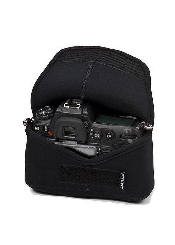 LensCoat BodyBag neoprene protection camera body bag case (Black)