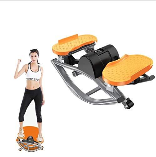 WERTYG Mini de Pasos Cardio Fitness Ejercicio, Aire Mini Escalador Torsión Escalera Paso a Paso, Máquinas de Ejercicios de Entrenamiento de Cuerpo Completo