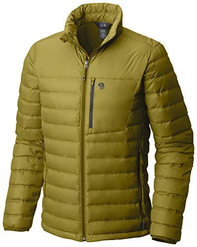 Mountain Hardwear Dynotherm Daunenjacke für Herren, Herren, Dark Citron, Medium