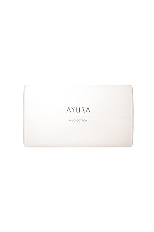 アユーラ (AYURA) マイルドコットン 100枚入 不要な角質をふんわりやさしく絡め取る 大きめサイズ