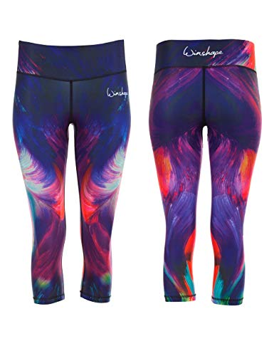 Winshape Femme Functional Colour Explosion Power Shape 3/4 Legging M Mehrfarbig