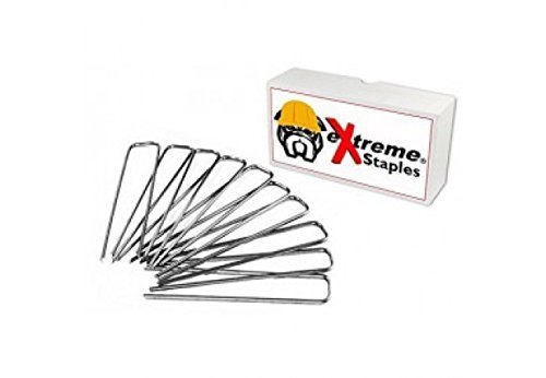 Extreme Dog Fence Pet Fence Staples for Electric Dog Fences and Sod or Garden - 100 Staples