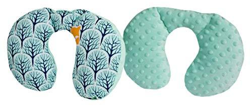 Medi Partners Almohada cervical para niños 100% algodón Mi