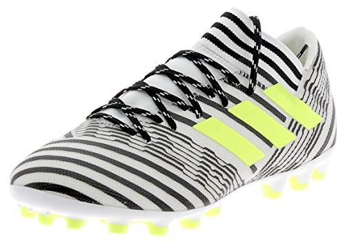 Adidas Nemeziz 17.3 AG, Botas de fútbol Hombre, Blanco (Ftwbla/Amasol/Negbas), 42 2/3 EU