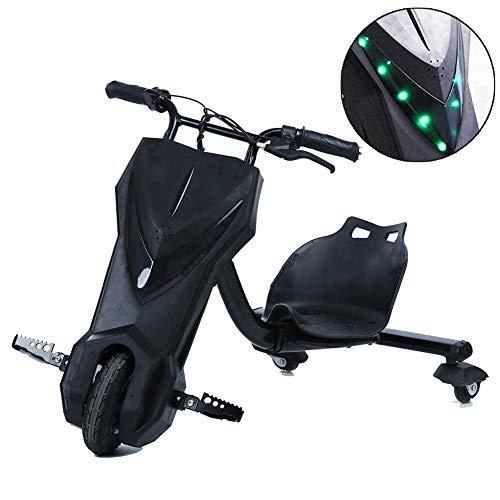 Fly Drift-Trike Elektro Bunte LED-Scheinwerfer Hinzugefügt ABS-Material, Mit Lithiumbatterie, 250 Watt Elektromotor Kinder Jungen Und Mädchen, Ages 9 Years+