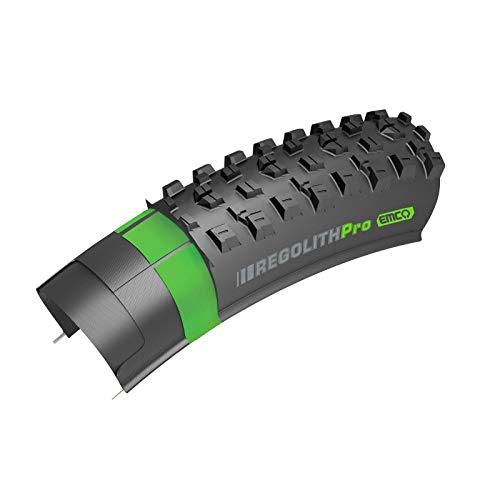 Kenda - Regolith - Neumático para Bicicletas de Montaña Eléctricas - Tubeless - Medida: 29'x 2.60 / ETRTO 66-622 - TPI 120 - Carcasa Electric Mountainbike Casing - Tubeless - Color Negro
