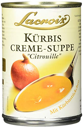 Lacroix Kürbis-Creme-Suppe, 3er Pack (3 x 400 ml)