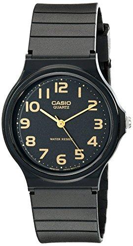 Casio MQ24-1B2 - Reloj de Pulsera Hombre, Resina, Color Negro