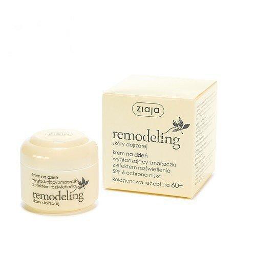 Ziaja Remodeling Anti-Falten Tagescreme mit Kollagen-Formel 60+ für reife Haut /// Remodeling skory...