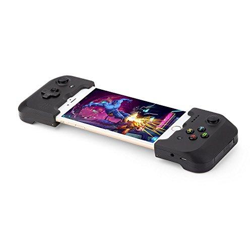 Gamevice GV156Joystick, iOS, schwarz, Zubehör für Videospiele (Joystick, iOS, DOS, D-pad, Menü, auswählen, analog, kabelgebunden)