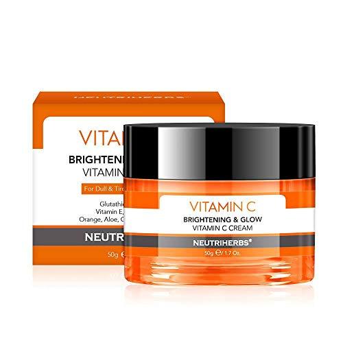 NEUTRIHERBS - Vitamin C Face cream BRIGHTENING & GLOW - FOR DULL & TIRED & IRRITATED SKIN - SERUM