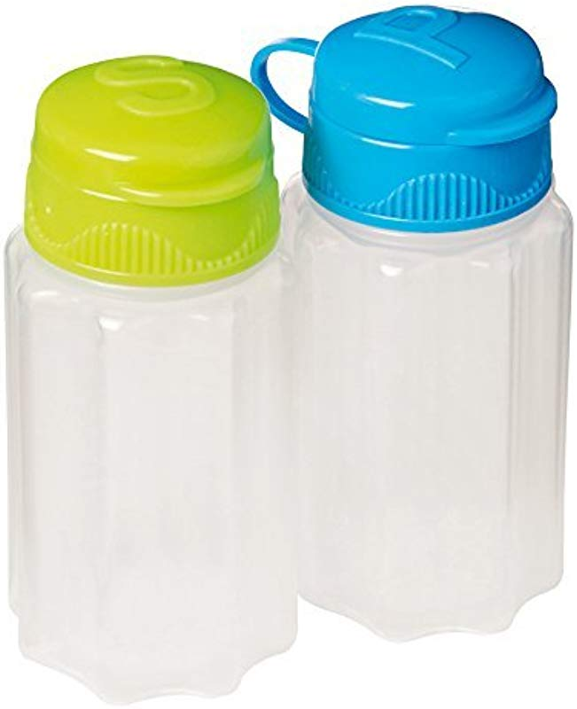 Sistema To Go Collection Salt And Pepper Shakers Assorted Colors Set Of 2