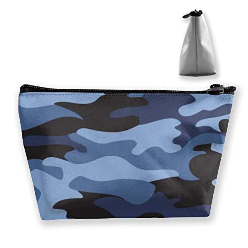 Trousse de Maquillage Motif Camouflage Trousse de Toilette pour Brosses Crayons Accessoires